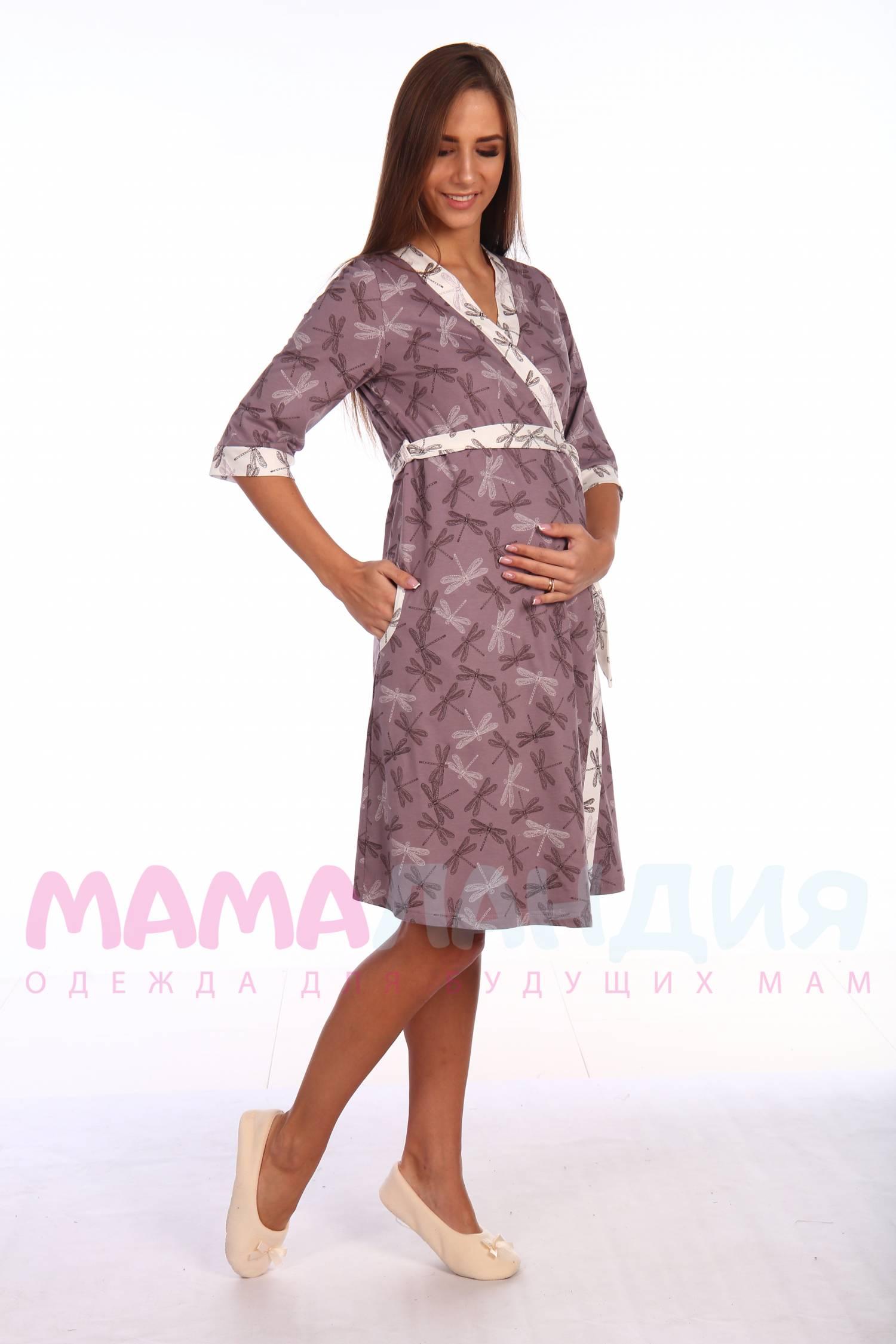 3a523d202ea5 Купить К101204 Комплект для беременных и кормящих КОРИЧНЕВЫЙ ...